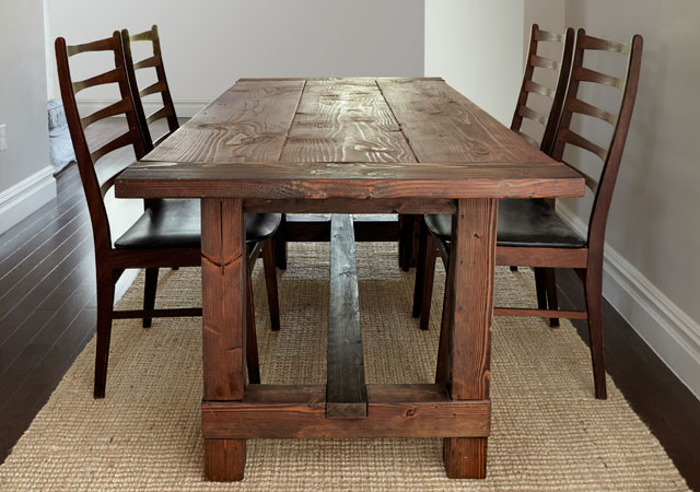 Build This Rustic Farmhouse Table Woodprix