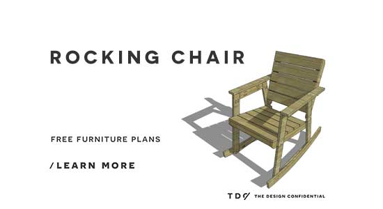how to build a rocking chair woodprix. Black Bedroom Furniture Sets. Home Design Ideas