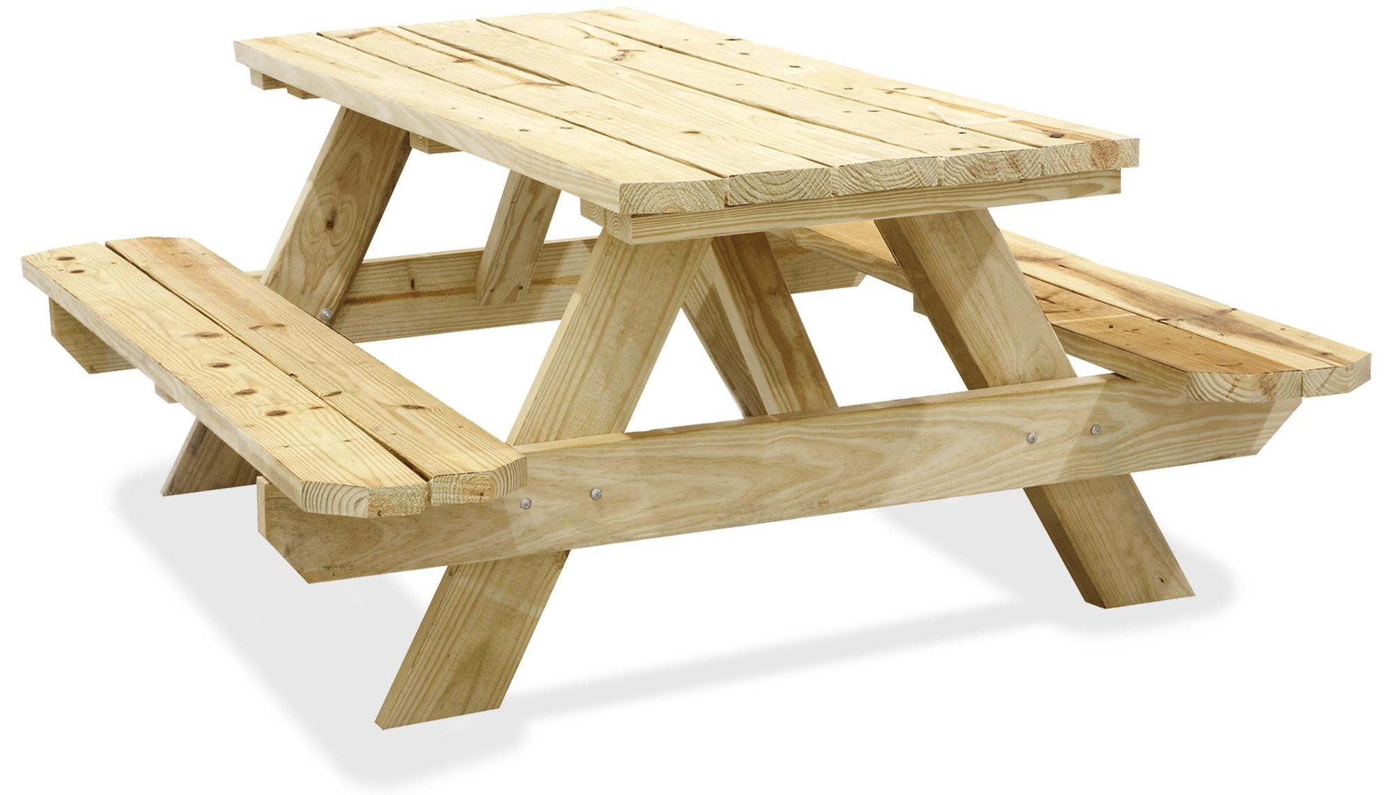 how to build a wooden picnic table woodprix. Black Bedroom Furniture Sets. Home Design Ideas